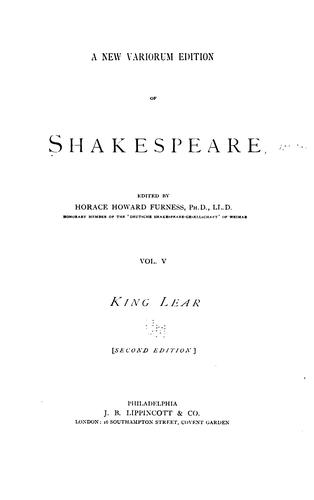 Download A New Variorum Edition of Shakespeare