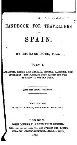 A Handbook for Travellers in Spain