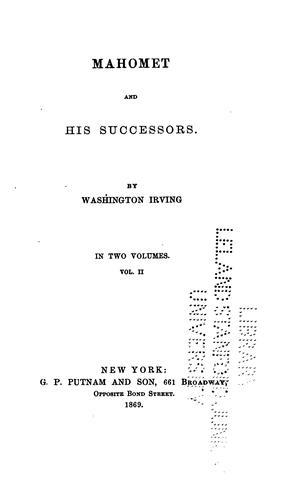 Mahomet and His Successors