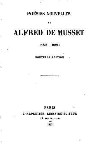 Download Poésies nouvelles, 1836-1852