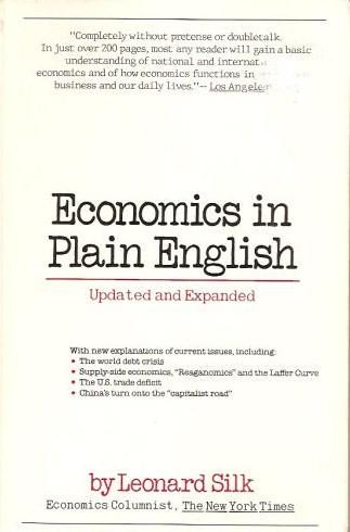 Economics in plain English