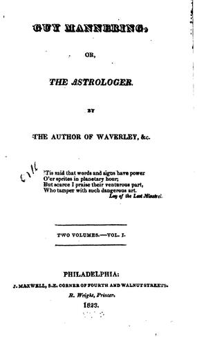 Download Guy Mannering: Or, The Astrologer