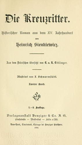 Download Die Kreuzritter.