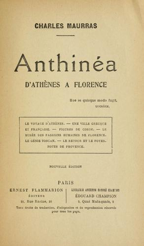 Download Anthinea
