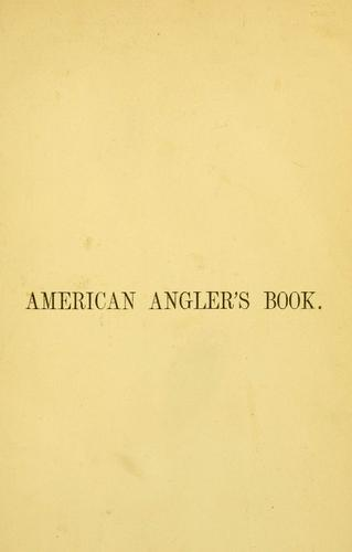 Download The American angler's book