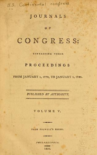Download Journals of Congress