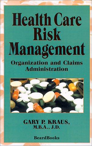 Download Health Care Risk Management