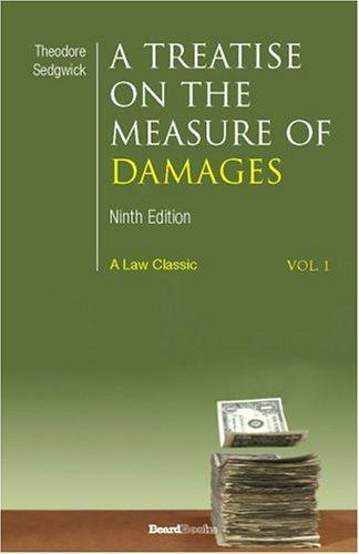 Download A Treatise on the Measure of Damages