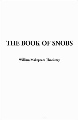 Download The Book of Snobs