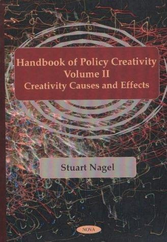 Handbook of Policy Creativity