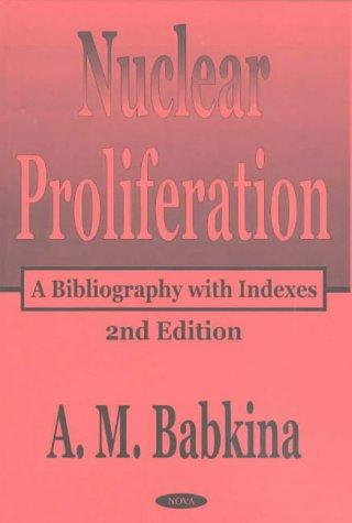 Download Nuclear Proliferation