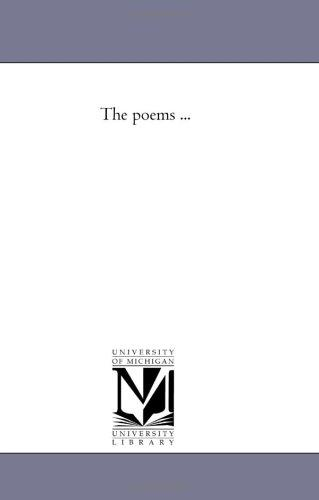 The poems …