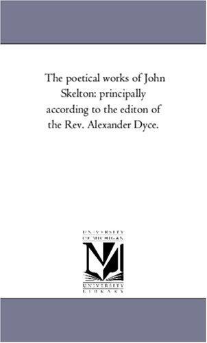 Download The poetical works of John Skelton
