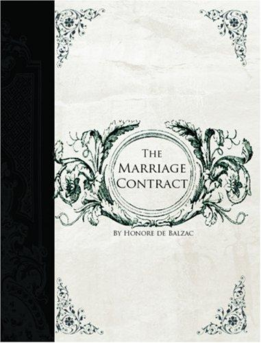 Marriage Contract  (Large Print Edition)
