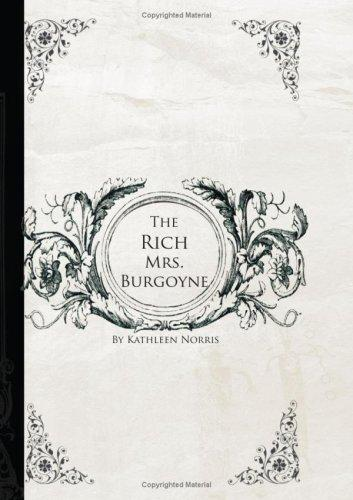 Download The Rich Mrs. Burgoyne (Large Print Edition)