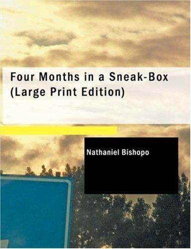 Four Months in a Sneak-Box (Large Print Edition)