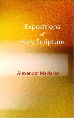 Download Expositions of Holy Scripture