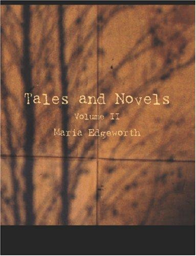 Download Tales and Novels, Volume 2 (large Print Edition)