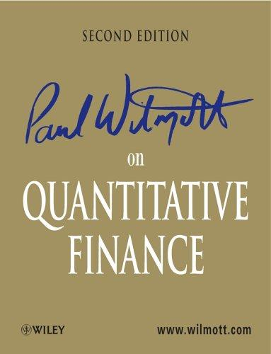 Download Paul Wilmott on quantitative finance.