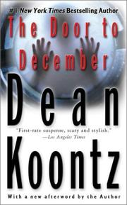 Book Cover: 'Door to December' by Dean Koontz