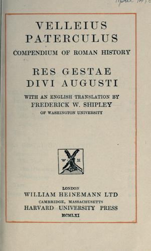 Compendium of Roman history.