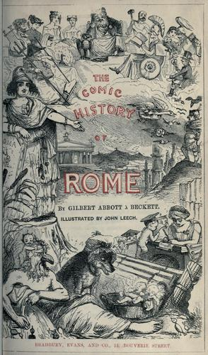 Download The comic history of Rome