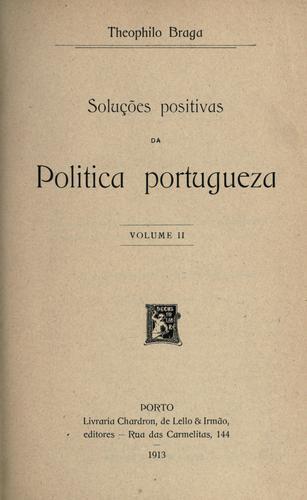 Download Soluções positivas da politica portugueza
