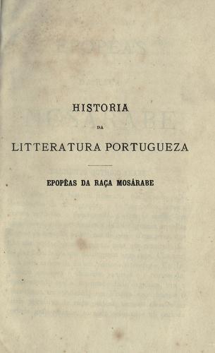 Download Historia da litteratura portugueza