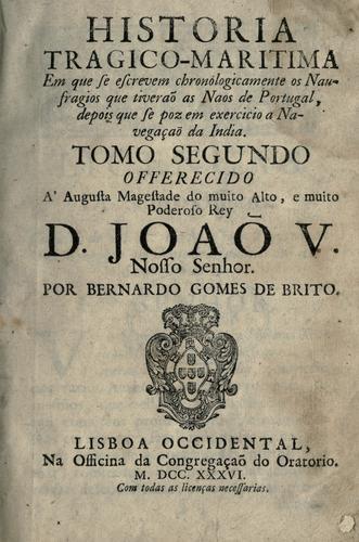 Download Historia tragico-maritima