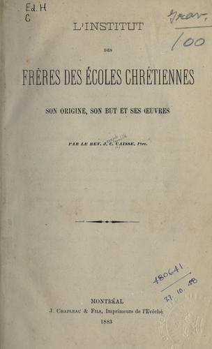 Download L' Institut des Frères des Écoles Chrétiennes