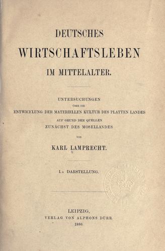 Download Deutsches Wirtschaftsleben im  Mittelalter.