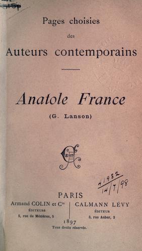 Download Anatole France.