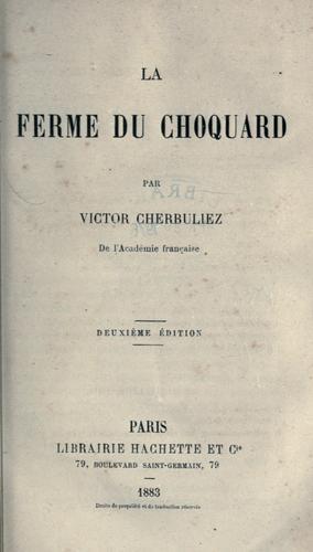 Download La ferme du Choquard