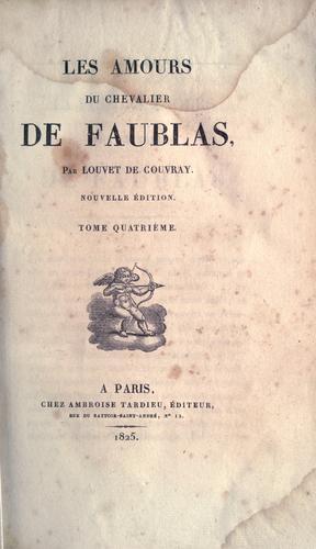 Les amours du chevalier de Faublas.