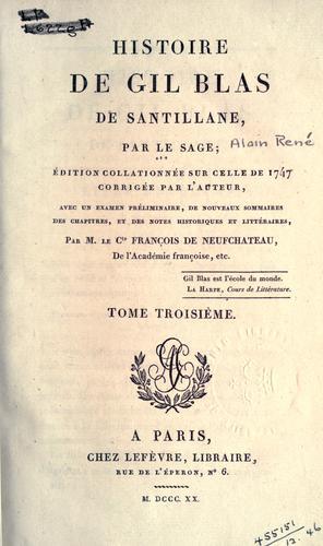 Download Histoire de Gil Blas de Santillane.