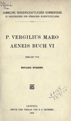 Aeneis, Buch VI