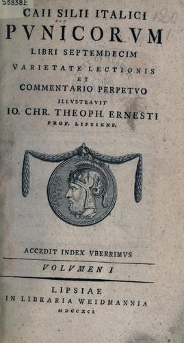 Punicorum libri septemdecim