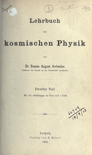 Download Lehrbuch der kosmischen Physik