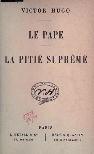 Le pape.