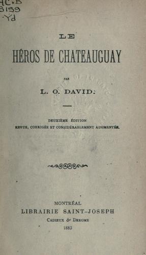 Download Le héros de Chateauguay.