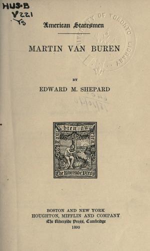 Download Martin Van Buren.