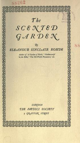 Download The scented garden