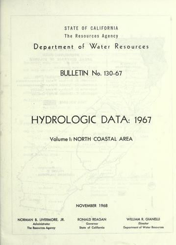 Download Hydrologic data, 1967.