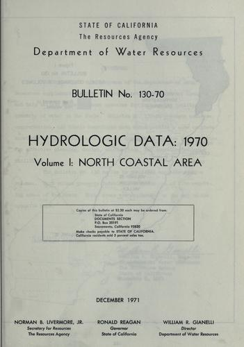 Download Hydrologic data, 1970.