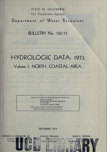 Download Hydrologic data, 1973.