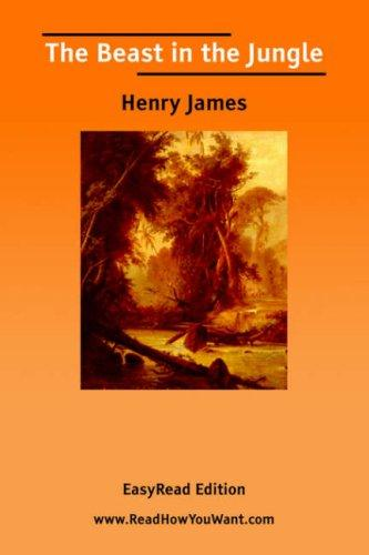 Download The Beast in the Jungle EasyRead Edition