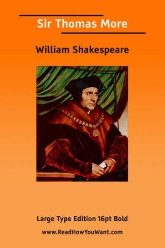 Download Sir Thomas More (Large Print)