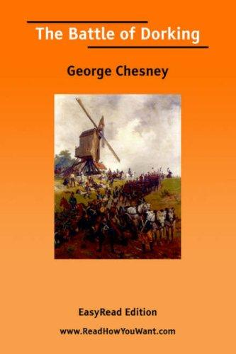 Download The Battle of Dorking EasyRead Edition