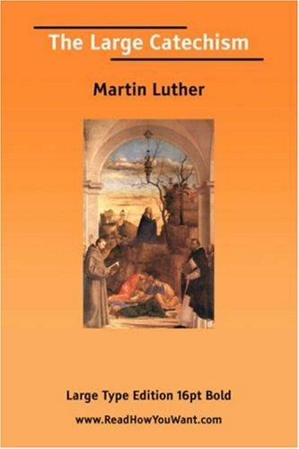 Download The Large Catechism (Large Print)