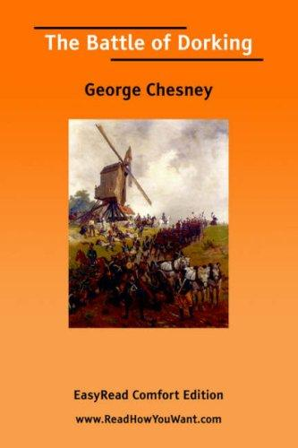Download The Battle of Dorking EasyRead Comfort Edition